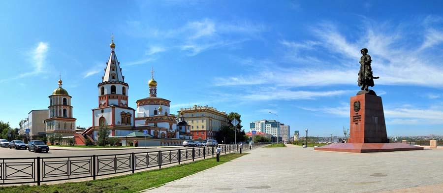 Иркустк - столица Иркутской области